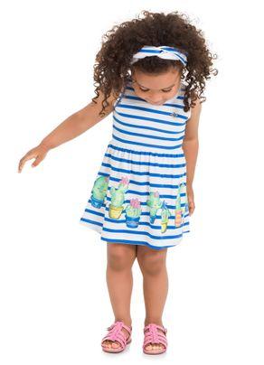 Vestido-Cactos-Menina-Brandili-Azul