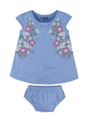 Vestido-Floral-Menina-Brandili-Baby-Azul