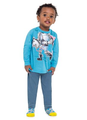 Pijama-Robo-Menino-Brandili-Azul