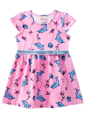 Vestido-Golfinhos-Menina-Brandili-Rosa