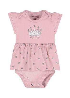 Vestido-Body-Princesa-Menina-Brandili-Baby-Rosa
