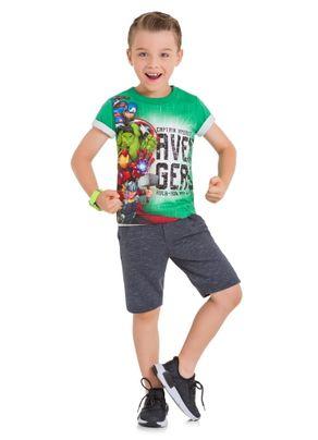 Camiseta-Avengers-Menino-Brandili-Verde