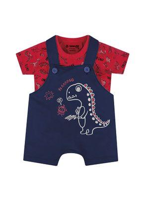 Conjunto-Dinossauro-Menino-Brandili-Baby-Vermelho