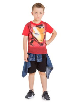 Camiseta-Avengers-Menino-Brandili-Vermelha