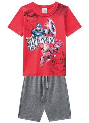 Conjunto-Avengers-Menino-Brandili-Vermelho