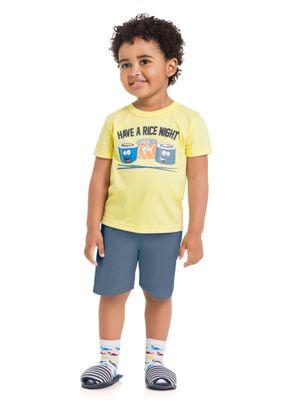 Pijama-Estampado-Menino-Brandili-Amarelo