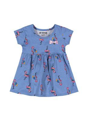 Vestido-Flamingos-Menina-Brandili-Baby-Azul