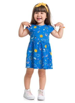 Vestido-Estampado-Menina-Brandili-Club-Azul