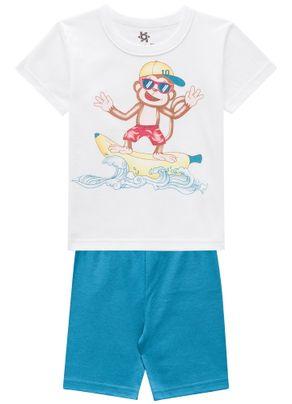 Pijama-Macaco-Surfista-Menino-Brandili-Branco