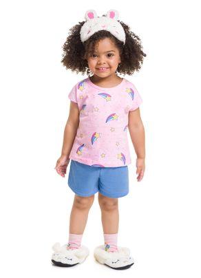 Pijama-Estampado-Menina-Brandili-Rosa