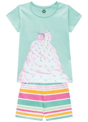 Pijama-Estampado-Menina-Brandili-Verde