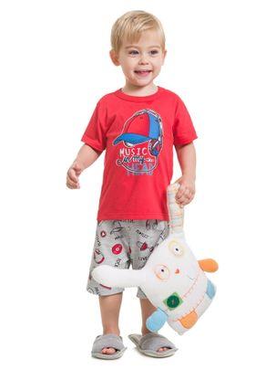 Pijama-Estampado-Menino-Brandili-Vermelho