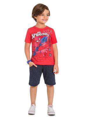Camiseta-Homem-Aranha-Menino-Brandili-Vermelha