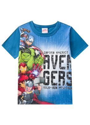 Camiseta-Avengers-Menino-Brandili-Azul