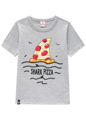 Camiseta-Tubarao-Pizza-Menino-Brandili-Cinza