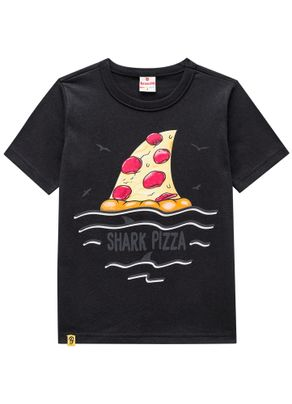 Camiseta-Tubarao-Pizza-Menino-Brandili-Preta