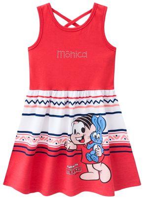 Vestido-Turma-da-Monica-Menina-Brandili-Vermelho