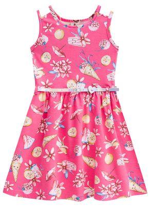Vestido-Infantil-Menina-Com-Cinto-Brandili-Rosa---4