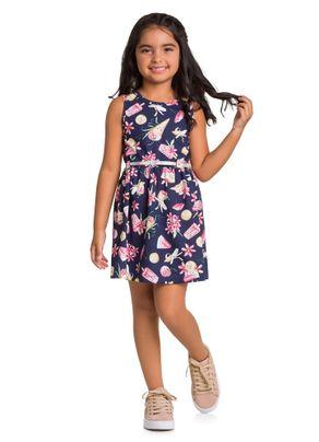 Vestido-Infantil-Menina-Com-Cinto-Brandili-Azul---10