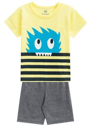 Pijama-Infantil-Menino-Brandili-Amarelo---1