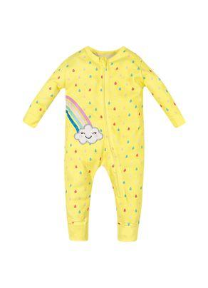 Macacao-Infantil-Menina-Brandili-Baby-Amarelo---M