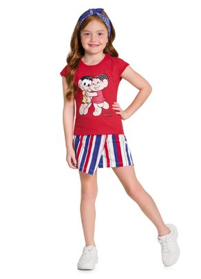 Conjunto-Infantil-Menina-Turma-da-Monica-Brandili-Vermelho---8