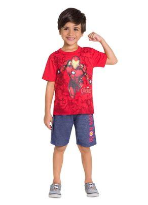 Conjunto-Infantil-Vingadores-Brandili-Vermelho---10