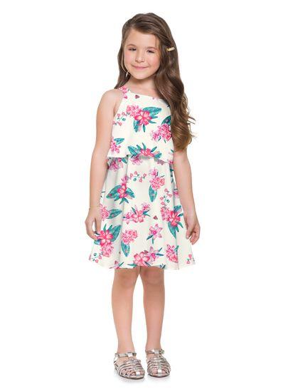 Vestido-infantil-menina-floral-Mundi