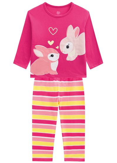 Pijama-Coelhinhos-Menina-Brandili