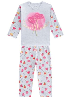 Pijama-infantil-menina-em-malha-com-estampa-Brandili-Cinza---1
