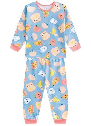 Pijama-infantil-menina-em-malha-estampado-Brandili-Azul---1