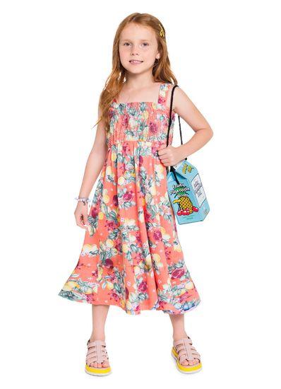 Vestido-midi-infantil-floral-e-fruta-Brandili