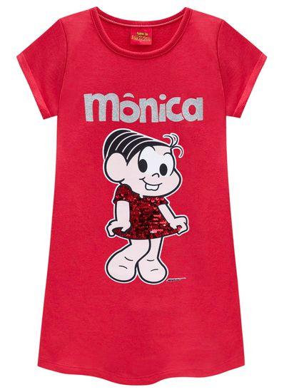 Vestido-infantil-lantejoulas-turma-da-Monica-Brandili