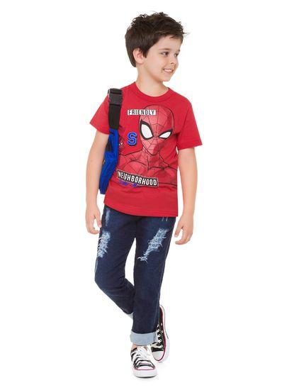 Camiseta-infantil-menino-brilha-no-escuro-Homem-Aranha-Brandili