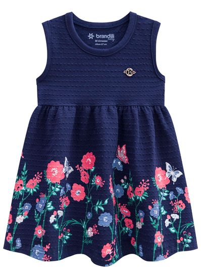 Vestido-bebe-em-cotton-floral-Brandili-Baby