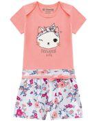 Conjunto-bebe-menina-em-malha-floral-Brandili-Baby