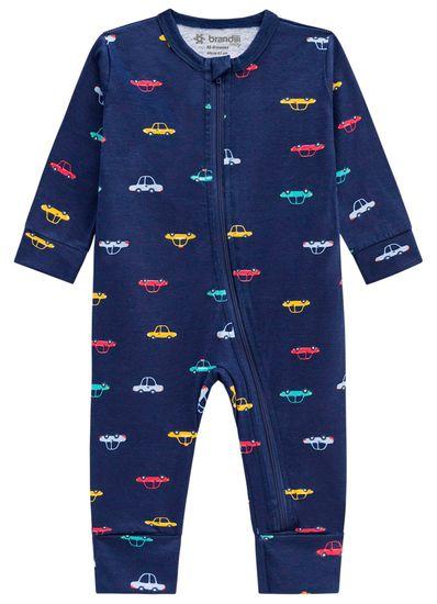 Macacao-bebe-menino-em-malha-carro-Brandili-Baby
