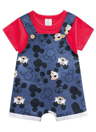 Conjunto-Jardineira-bebe-menino-em-moletinho-Mickey-Brandili-Baby