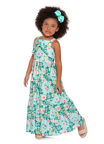 Vestido-longo-infantil-em-malha-cotton-floral-Mundi