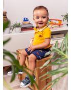 Conjunto-polo-bebe-menino-em-malha-carro-Brandili-Baby