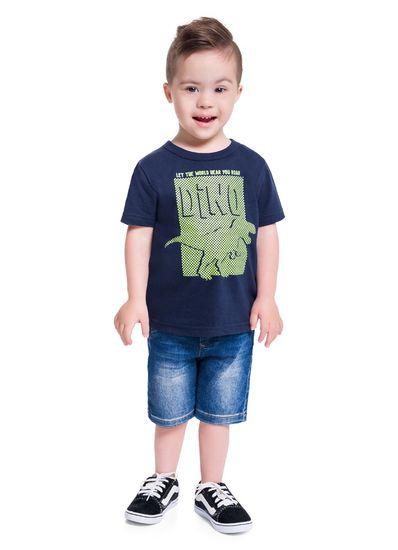 Camiseta-Infantil-Menino-Estampa-De-Dinossauro-Em-Malha-Brandili