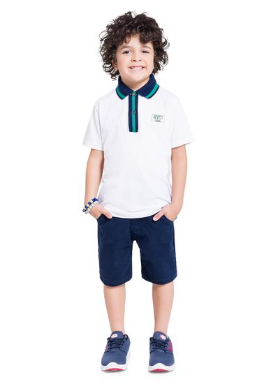 Conjunto-Polo-Menino-Infantil-Com-Bordado-Em-Malha-Brandili