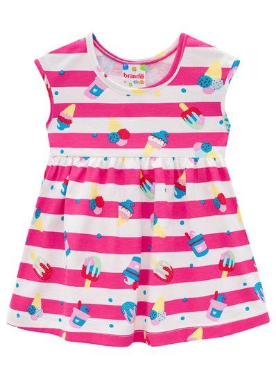 Vestido-Infantil-Estampa-De-Sorvete-Em-Malha-Brandili
