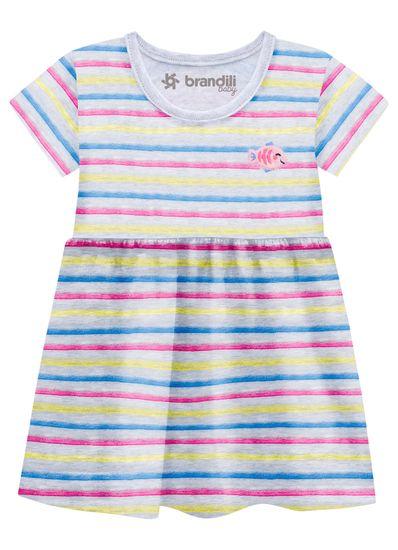 Vestido-Bebe-Com-Estampa-De-Ursinhos-Em-Malha-Brandili-Baby