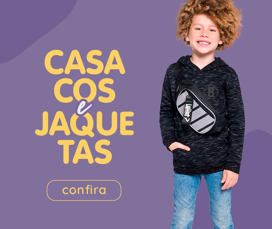 Secundário Casacos e Jaquetas
