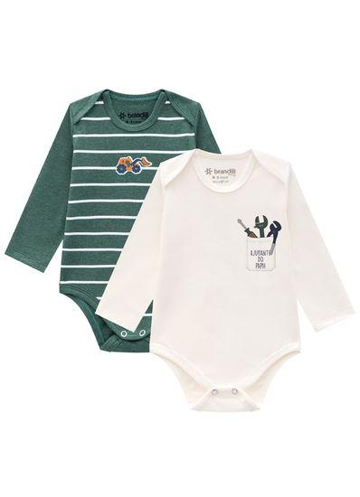 Kit-bodies-bebe-menino-em-malha-cotton-Brandili-Baby