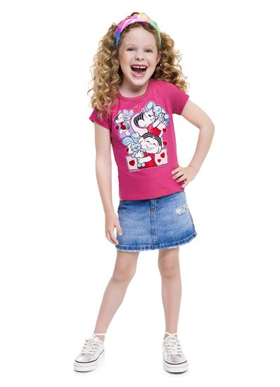 Blusa-infantil-menina-de-malha-com-estampa-da-Turma-da-Monica-Brandili