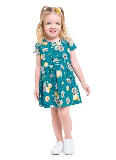 Vestido-infantil-menina-de-malha-com-estampa-de-limoes-e-margaridas-Brandili