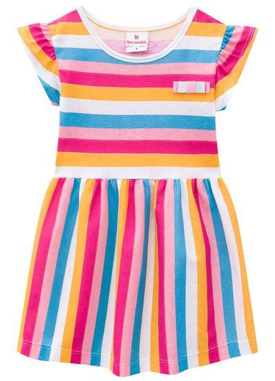 Vestido-infantil-menina-de-malha-com-listras-Brandili