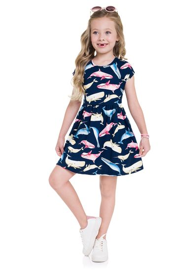 Vestido-infantil-menina-de-malha-com-estampa-de-baleias-Brandili